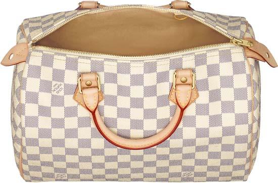 Louis Vuitton Speedy Blanc