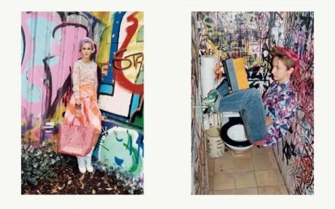 Campagne publicitaire Marc by Marc Jacobs, printemps/été 2013