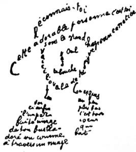 Apollinaire-calligrammeChapeau
