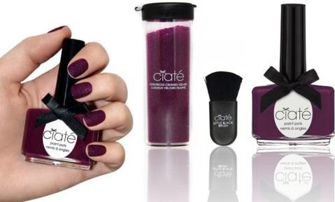 Purple velvet au bout des ongles, Ciaté