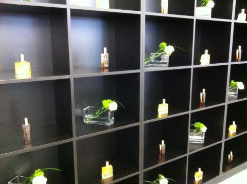 Les bureaux deTop Secret sur leur 31 pour la présentation du Parfum Prodigieux de Nuxe