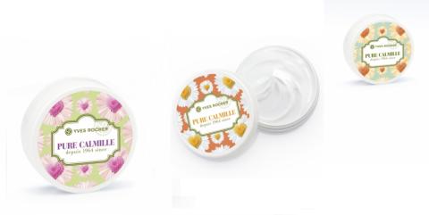Trois petites boîtes fleuries ou la ronde de la camomille, Yves Rocher