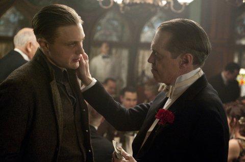 Jimmy et Nucky: Michael Pitt et Steve Buscemi dans Boardwalk Empire