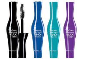 Volume Glamour Max Holidays de Bourjois, en bleu mais aussi en noir, turquoise et violet