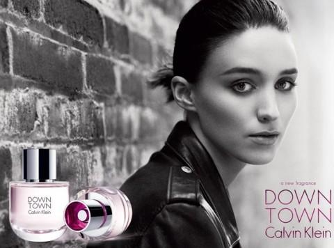 Une Rooney Mara, à la fois dark et lumineuse, incarne Downtown, le nouveau parfum Calvin Klein