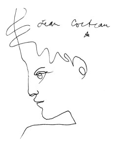 Cocteau, Profil de jeune homme