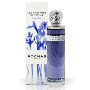 Jus couleur bleu mauve et packaging épuré pour cette senteur craquante (Rochas)