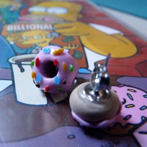 Boucles d'oreilles Donut, Adrienne Nélissen