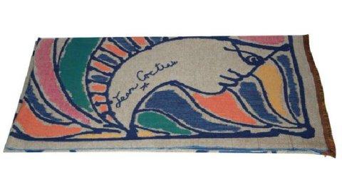 Plaid coll. Jean Cocteau pour Roche-Bobois