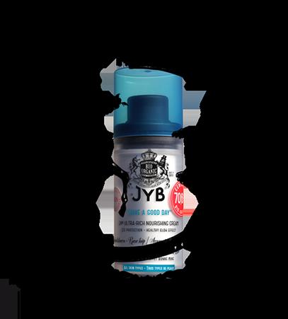 JYB Cosmetics, un blaze très chic et un logo qui dépote