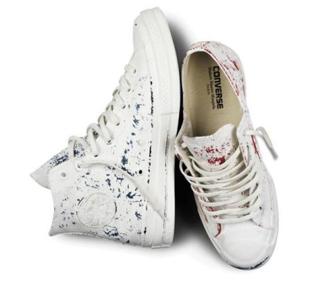 La Converse Chuck All Star repeinte en blanc