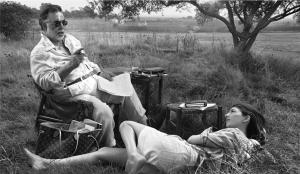 Francis Ford et sa fille, Sofia Coppola (doc. LV)