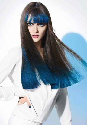 """La """"French manucure"""" pour cheveux vue par L'Oréal (doc. L'Oréal Prof.)"""
