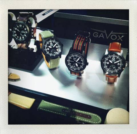 Les montres d'aviateur Gavox ou la Belgique dans les nuages (ph. VD)