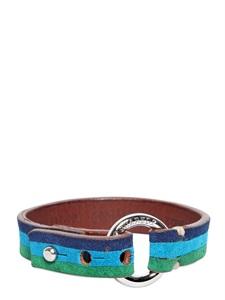 Bracelet en cuir DSquared2 (73 €)