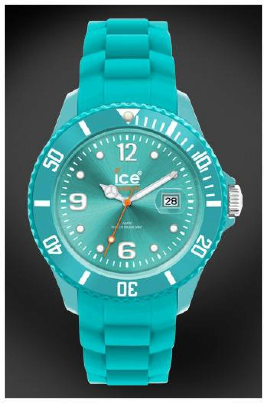 Ice watch - Montre ice watch bleu turquoise ...
