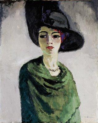 Dame au Chapeau noir, Kees Van Dongen (1906-1908)