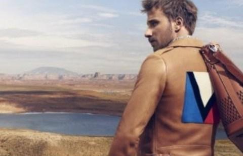 Matthias Schoenaerts shooté par Mikael Jansson dans la nouvelle campagne Vuitton (doc. LV)