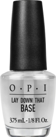 "Base OPI ""Lay Down That Base"", offerte à l'achat du vernis"