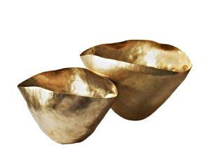 Vases en cuivre frappé, Bash Vessel (Tom Dixon)