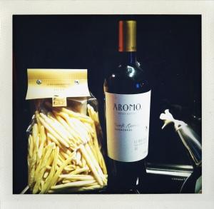 Un excellent Aromo du Chili avec des filei aux oignons et à la viande au menu du soir...