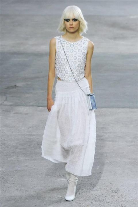 Défilé Chanel printemps/été 2014