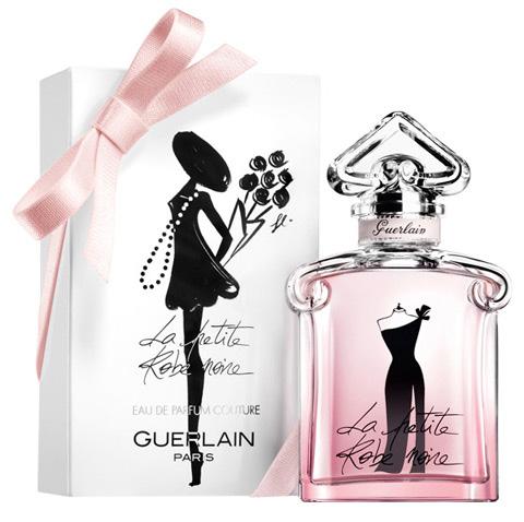 Version soir et fendue, La Petite Robe Noire Couture de Guerlain