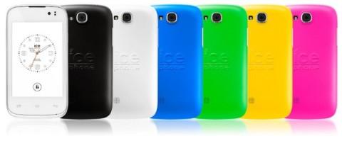 Smartphone Ice-Mini, un arc-en-ciel de couleurs (99 €)