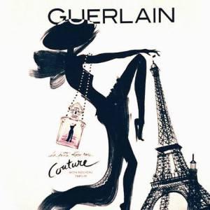 Le rythme dans la peau et l'allure French cancan (doc. Guerlain)