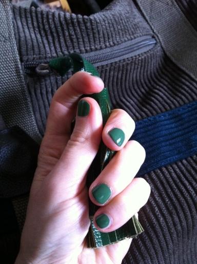 Mint Bubble, le vert du printemps chez Faby (ph. VD)