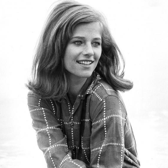 Charlotte Rampling, jeune