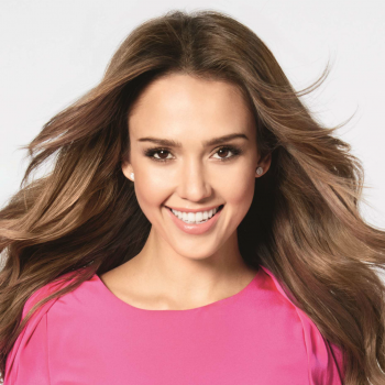 Jessica Alba, the new face of Braun