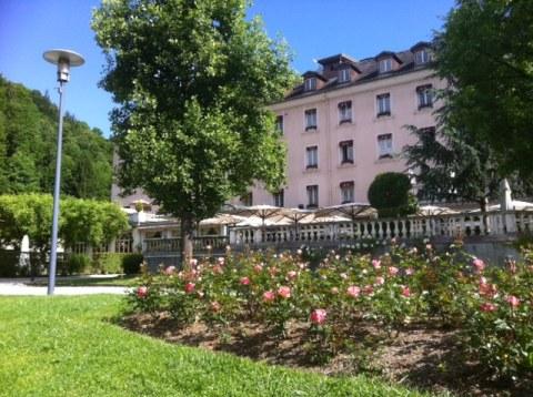 Le Grand Hôtel d'Uriage-les-Bains, dans l'Isère (ph. VD)