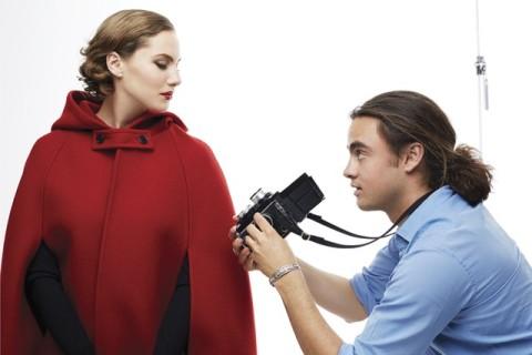Emma Ferrer photographiée pour Harper's Bazaar par Michael Avedon, le petit-fils de Richard Avedon