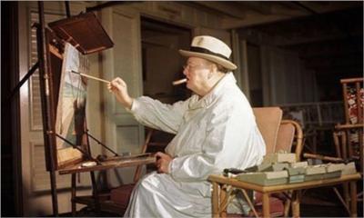 Churchill-peinture