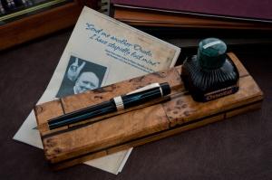 """Le stylo """"Pinstripe"""" Onoto de Winston Churchill"""