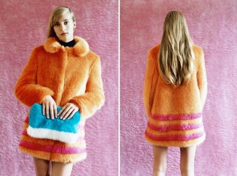 """""""The coolest winter coat"""", comme l'affirme la fashion presse anglaise."""