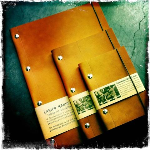 Conçus pour résister à l'usure du temps et se patiner avec grâce. Carnets en cuir Havana LCK (doc. blog.lekraft.com)