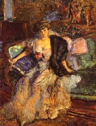 Portrait de Madame Natanson par Renoir (1904, National Gallery)