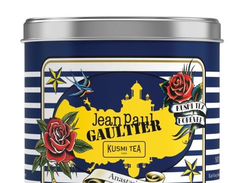 Thé Anastasia Jean Paul Gaultier pour Kusmi Tea, 22 € la boîte collector de 250g