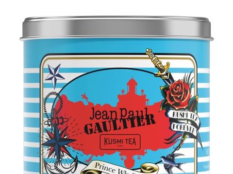 Thé Prince Wladimir Jean Paul Gaultier x Kusmi Tea, 22€ la boîte tout aussi collector de 250g