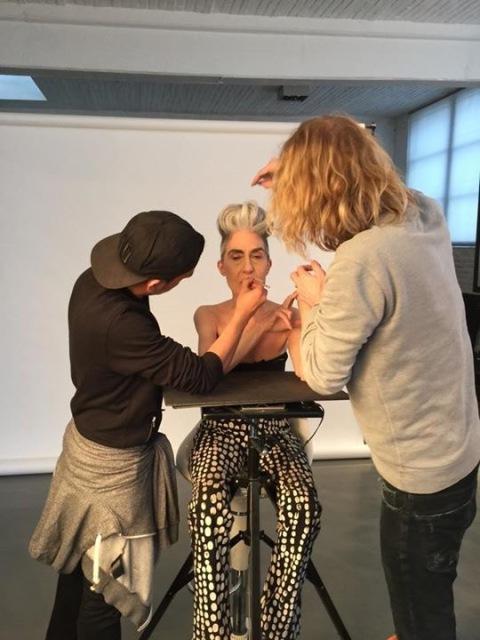 La nouvelle campagne JYB Cosmetics, shootée par , maquillage, coiffure (doc. JYB)