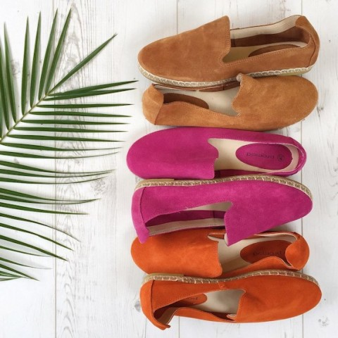 espadrilles-facon-slipper-suede-camel-rose-fuchsia-orange-ProMode