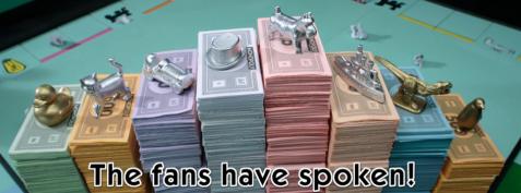 Les résultats Monopoly